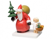 Wendt & K�hn Santa Claus with Tree and Angel