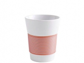 Kahla cupit to go Becher 0,35 l Magic Grip coral sunset