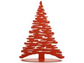 Alessi BM06 R Weihnachtsbaum Bark for Christmas Rot