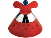 A di Alessi A09 R Küchentimer Kitchen Timer Rot