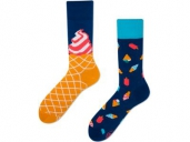 Many Mornings Mismatched Socken Ice Cream Dream 39-42