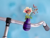FRIEDA Lilac - Vase for Bicycle Handlebar