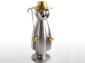 Adamas Brass Stainless Steel/Brass Smoking Man Good Shepherd