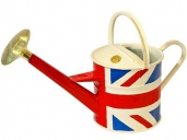 Haws Outdoor Watering Can Traditional Union Jack 4.5 Litre